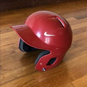 Nike baseball batting helmet